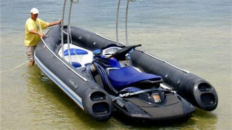 Jet Ski Plus Boat by Dockitjet Offers Both A Jet Boat And A Jetski