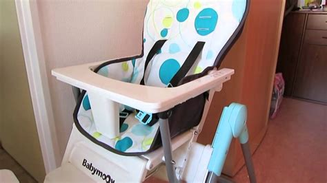 chaise haute a bébé chaise haute babymoov slim highchair baby