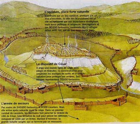 siege d alesia bataille d 39 alésia en 52 av jc