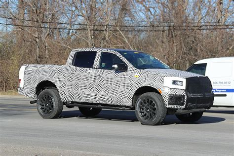 Ford Mid Size Truck by Ford Ranger Fx4 Trim Spotted Testing Trucks