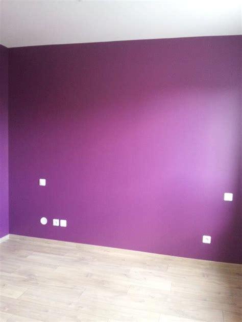 couleur prune pour une chambre décoration de la chambre parentale peinture couleur