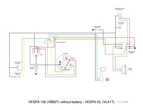 vespa vb wiring diagram by et3px et3px issuu
