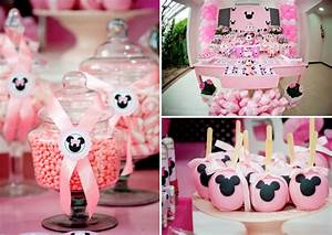 Disney Minnie Mouse Girl Pink Themed Birthday Party ...