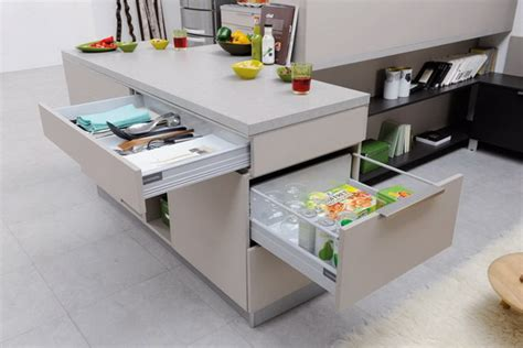 cuisine taupe mat smart kitchen storage ideas for small spaces 08 stylish