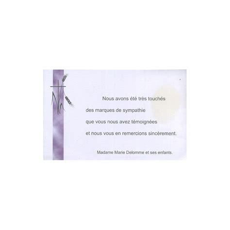 modele carte remerciement deces carte de remerciement d 233 c 232 s deuil condol 233 ances obs 232 ques