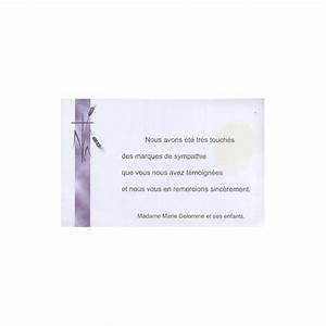 Carte Grise Apres Deces : carte de remerciement d c s deuil fun railles condol ances obs ques regalb la155 ~ Maxctalentgroup.com Avis de Voitures