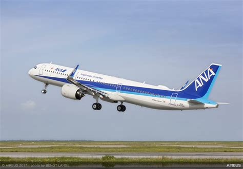 All Nippon Airways takes delivery of its first A321neo
