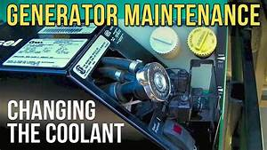 Change The Coolant In Your Onan Diesel Rv Generator