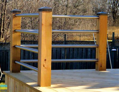 deck  pergola  stainless steel railings