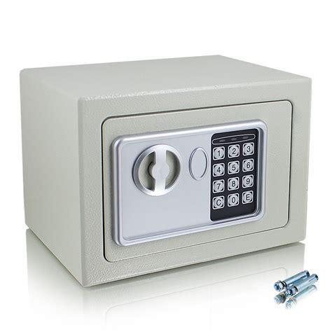 elektronischer tresor bedienungsanleitung kleiner elektronischer mini safe tresor schranktresor zahlenschloss lichtgrau ebay