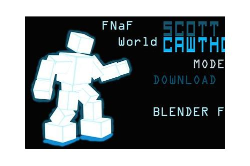 scott cawthon fnaf world download