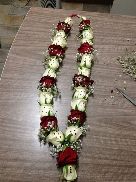 red  white roses  gems   extra special wow