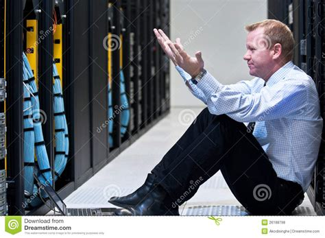 server failure royalty  stock  image