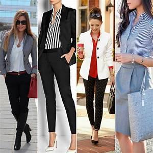 20 looks pour aller au bureau trouvés sur Pinterest Tendances Mode Mode et beauté