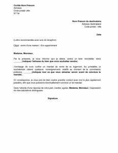 Documents Pour Compromis De Vente : lettre une agence pour la vente d 39 un bien immobilier mod le de lettre gratuit exemple de ~ Gottalentnigeria.com Avis de Voitures