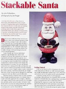 Woodcarving Santa • WoodArchivist