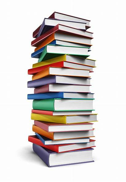 Books Stack Tall Background Reading Suggested Illustration