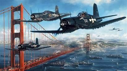 Bridge Corsair F4u Gate Vought Goodwp
