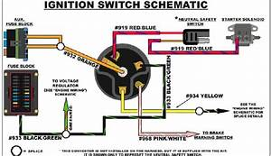 Marine Ignition Switch Wiring Diagram