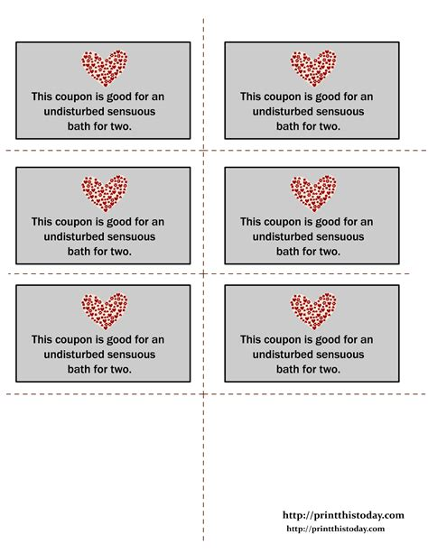 coupons for him template printable coupons