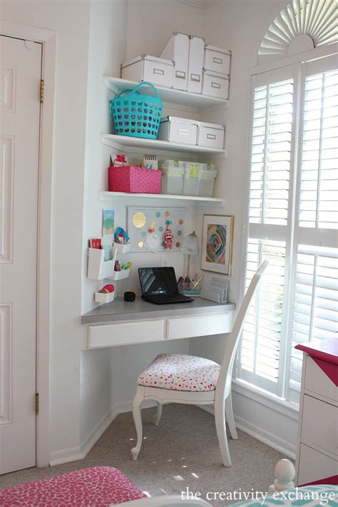 cute desks for small rooms little 39 s room reved to bright and bold tween room
