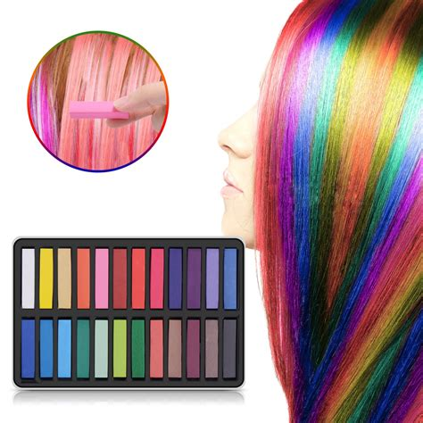 Maydear Temporary Hair Chalk Comb Non Toxic