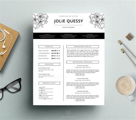 best 25 fashion resume ideas only on