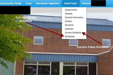 full year student schedules community portal groton dunstable