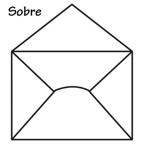 DIBUJOS DE SOBRES PARA COLOREAR