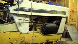 Cub Cadet 169  How To Fix Stuck Hydro Relief Valve