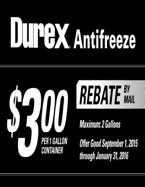 foto de Fillable Online Antifreeze REBATE BY Rural King Rebate