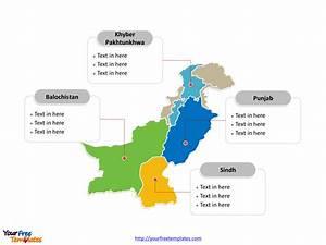 Free Pakistan Editable Map