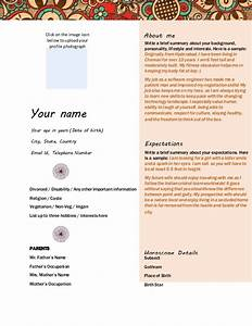 unique image of muslim marriage resume format for boy