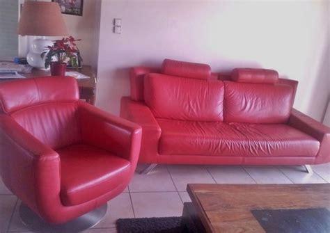 canapé 2 places fauteuil assorti canapé fauteuil cuir clasf