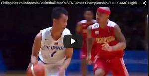 Philippines vs Indonesia Basketball Men's SEA Games ...