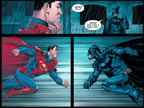 Superman Vs Batman (injustice Gods Among Us Year 5