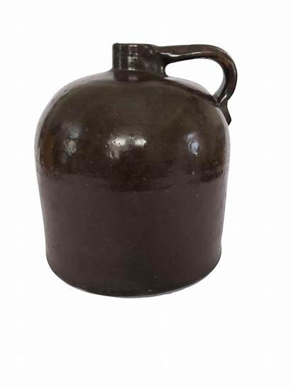 Stoneware Antique Whiskey Brown Jug Crock Chairish