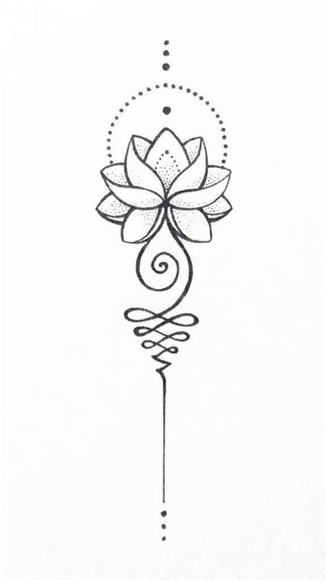 Unalome Lotus #Lotus #symbol #unalome #Tattoos   Unalome tattoo, Tattoos, Unalome