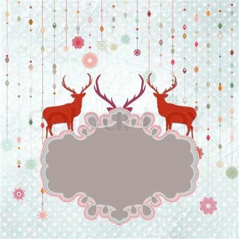 weihnachten einladung karte vorlage vektorgrafik