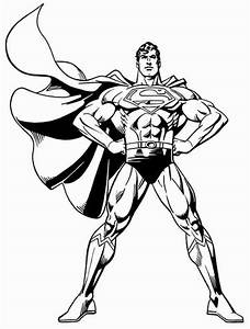 Superman Coloring Pages | Clipart Panda - Free Clipart Images
