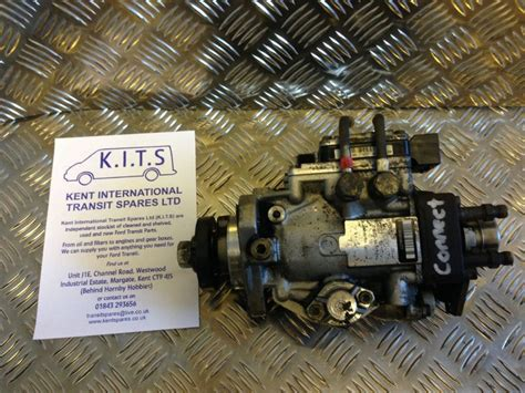 ford transit connect diesel fuel pump virginised tested