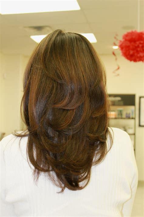 long  layers   highlights hair makeup pinterest highlights