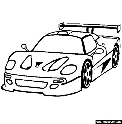 supercars  prototype cars  coloring pages page