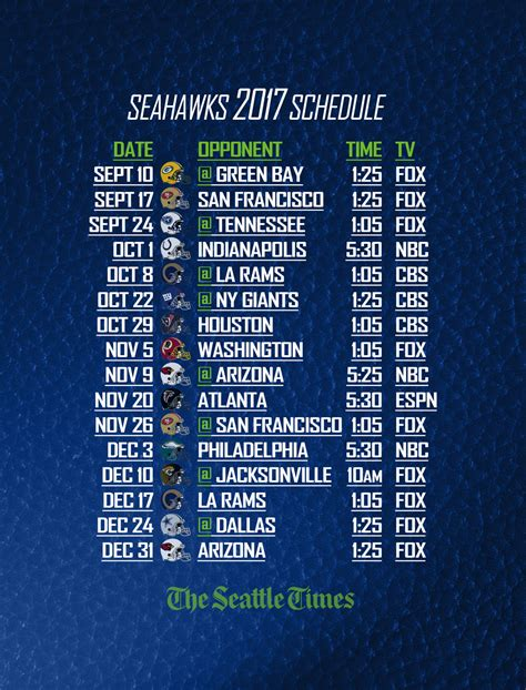 print  save    seahawks schedule