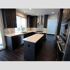 San Clemente Gray & White Ushaped Modern Kitchen Remodel