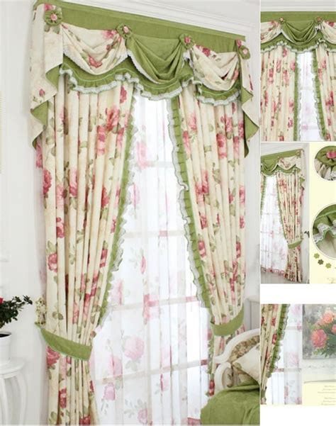 kitchen curtains green green curtain patterns decorating ideas 1059