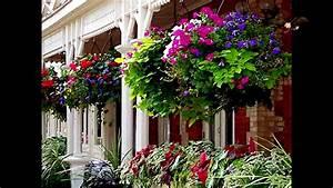 ideas de macetas colgantes para jardin hanging pots With decorations exterieures de jardin
