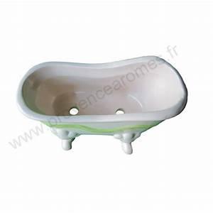 Petite Baignoire Retro : porte savon c ramique petite baignoire ancienne ruban vert ~ Edinachiropracticcenter.com Idées de Décoration