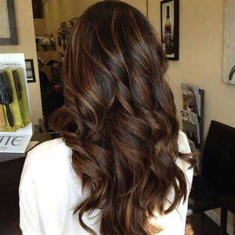 Darker Brown Hair by Highlights For Darker Hair Gorgeous Hair Hair