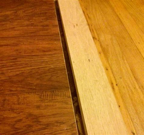 transition/reducer between hardwood and laminate
